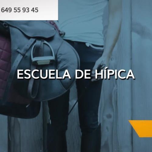 Montar a caballo en Málaga: Escuela Hípica Los Nogales