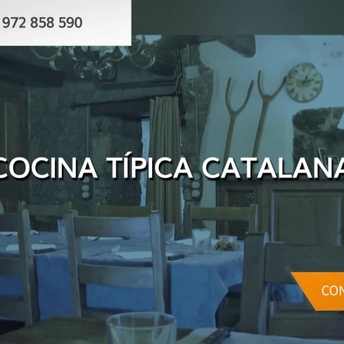Restaurante en Maçanet de la Selva