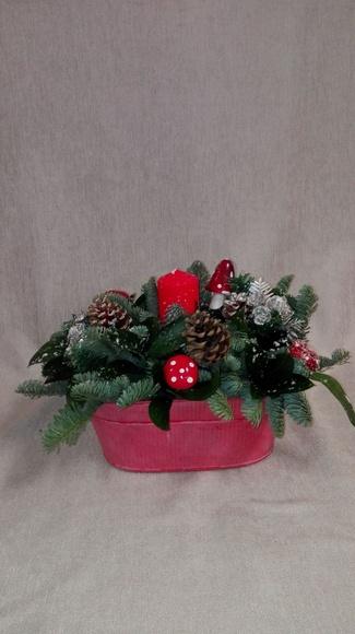 Arreglo de plantas navideño: CATALOGO de Floristería Manuela