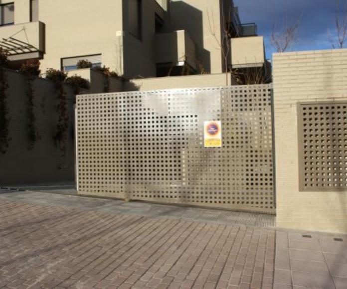 Puertas correderas: Catálogo de Industria Puertas y Cerramientos
