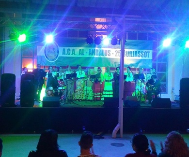 Feria de Abril en Burjassot.  (Antiguo mercado municipal)