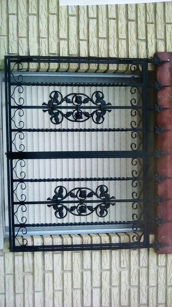 rejas de forja para ventanas en Vitoria