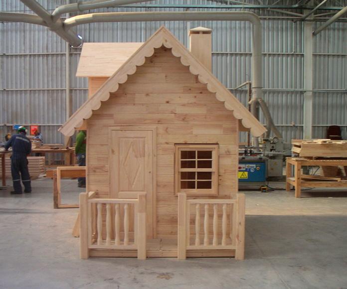 Cabañas jardín, garajes, kioskos y casitas niños: Productos y servicios de Cortelima