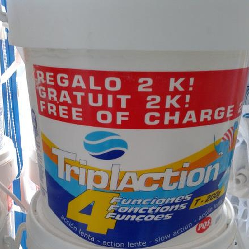 Multifunción tabletas 10 + 2: Servicios  de Piscinas Padilla, S.L.