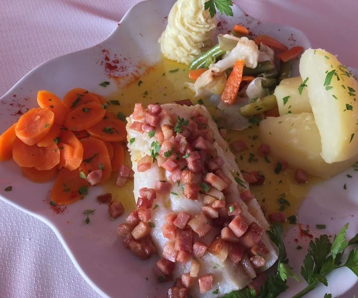 Pescados y mariscos: Nuestra carta de El Trébol Restaurante Pizzería