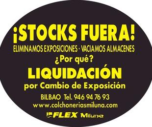 Stocks fuera!!!