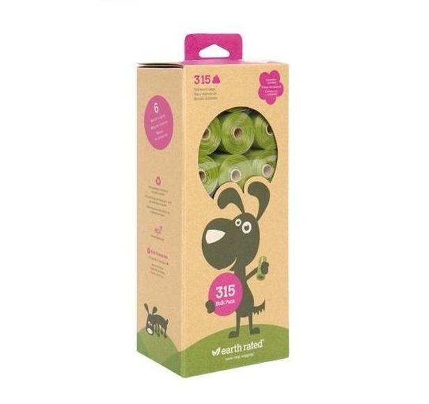Bolsas biodegradables Earth Rated 315 bolsas