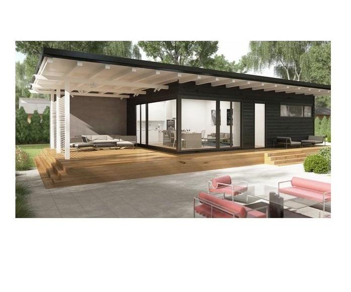 Alejandra (120 m2): Casas de madera de 5SCC Casas de Madera