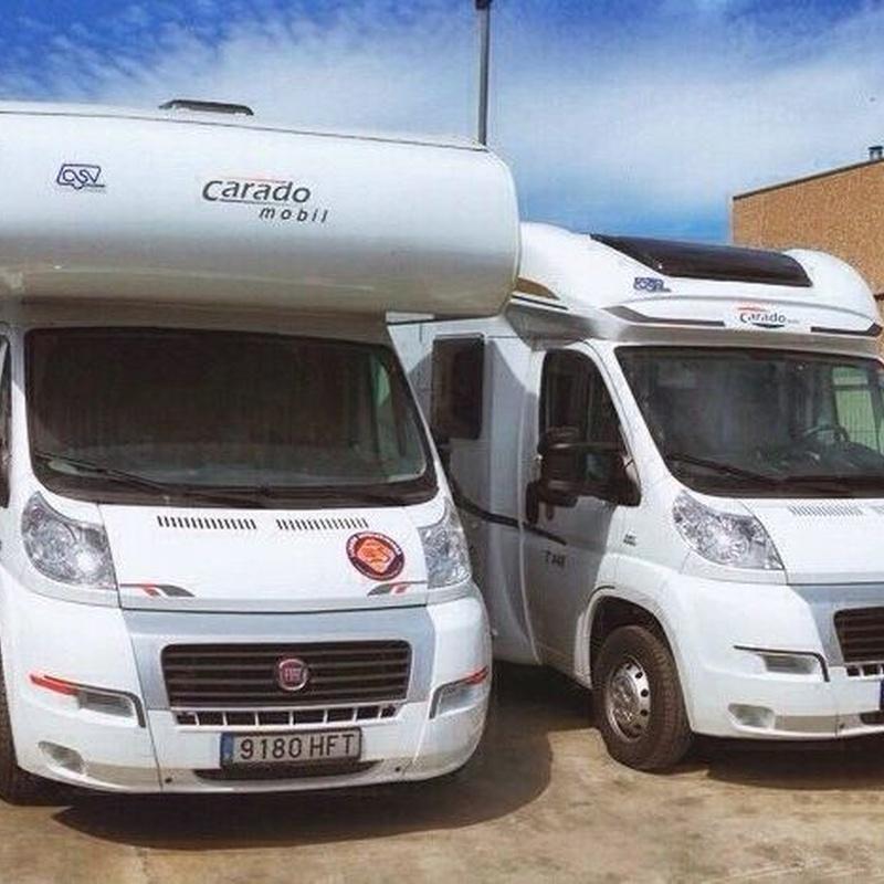Alquiler de autocaravanas: Nuestros servicios de Gasoils Carreras