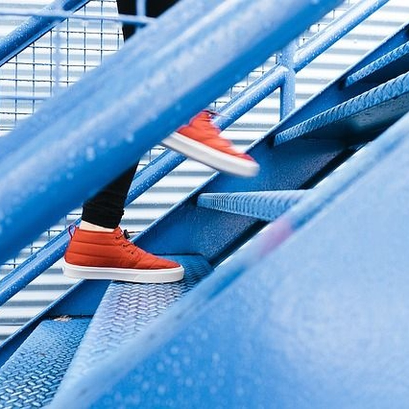 Escaleras de hierro para exterior: Productos y servicios de Cerrajería Titulcia