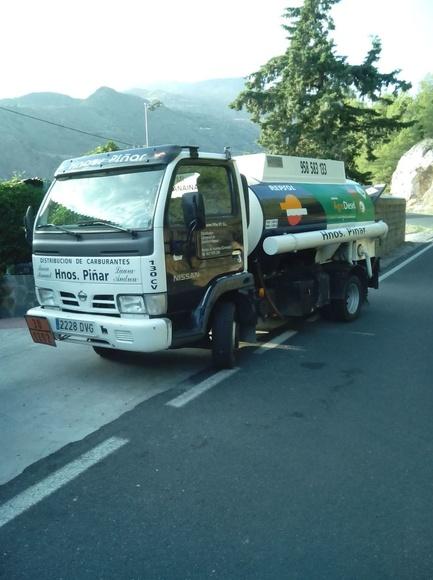 Gasóleo a domicilio Granada: Servicios de Hnos Piñar 97