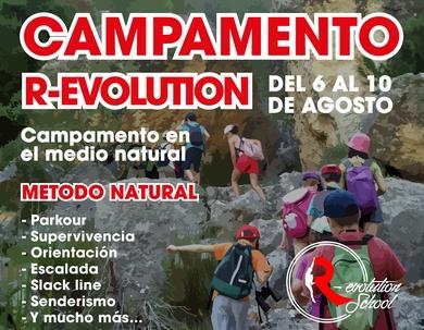 Campamento parkour Agosto