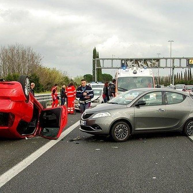 ¿Qué has de hacer si presencias un accidente de tráfico?