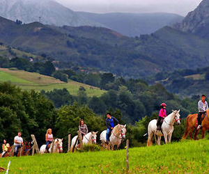 Rutas a caballo en Cangas de Onís