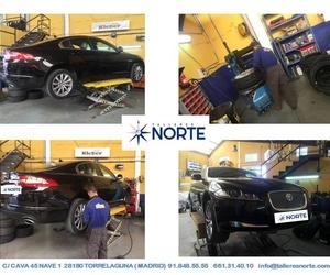 cambiar ruedas en Talleres Norte Torrelaguna