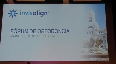 FORUM ORTODONCIA INVISALIGN. MADRID OCTUBRE 2014