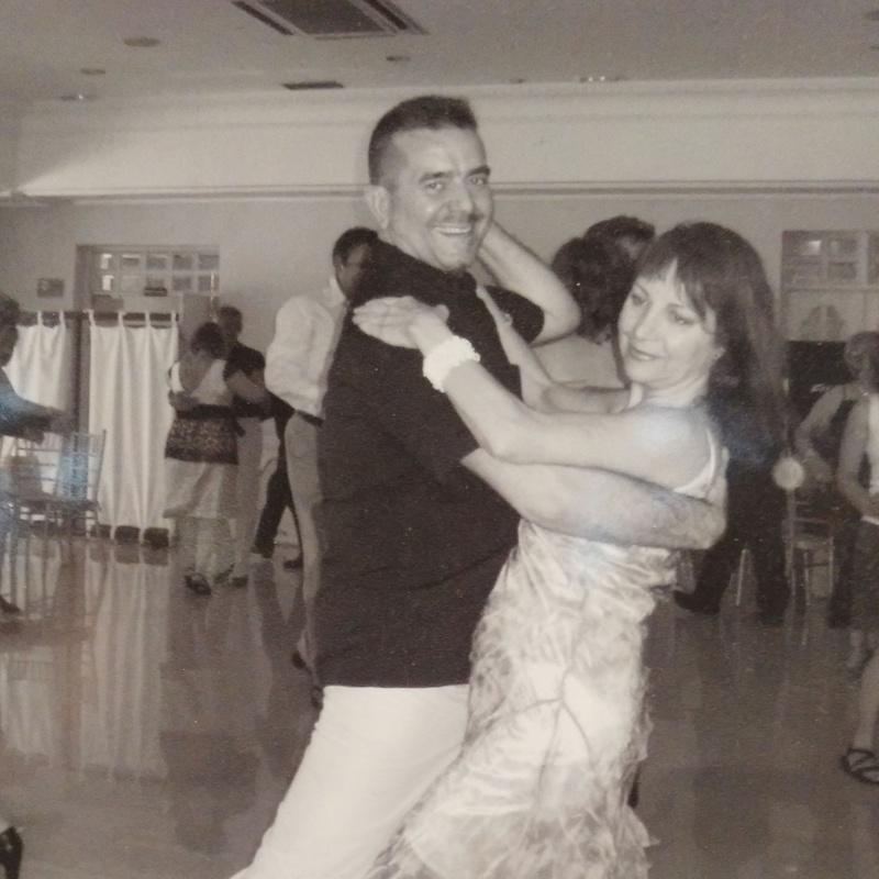 Profesores baile de salón Irene y José en Vallecas