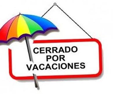 Cerrado por Vacaciones hasta el 1 de Enero de 2020