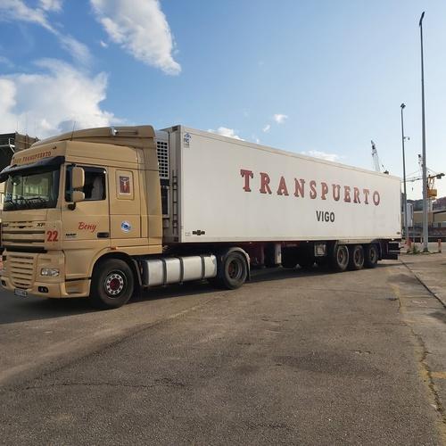 Transportes frigoríficos en Vigo