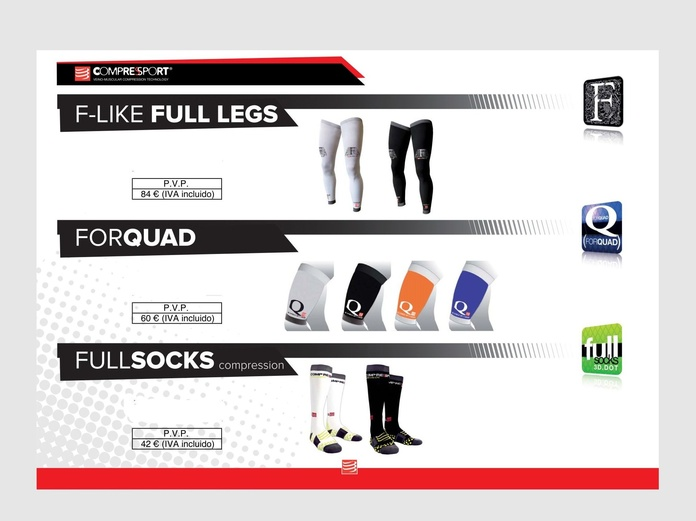 F-like Full Legs , For quad , Full Socks: TIENDA ONLINE de Ortopedia La Fama