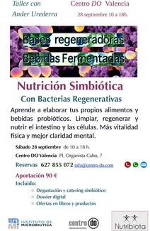 Taller de Nutrición Simbiótica con Ander Urederra, Sábado 28 de Septiembre de 2019