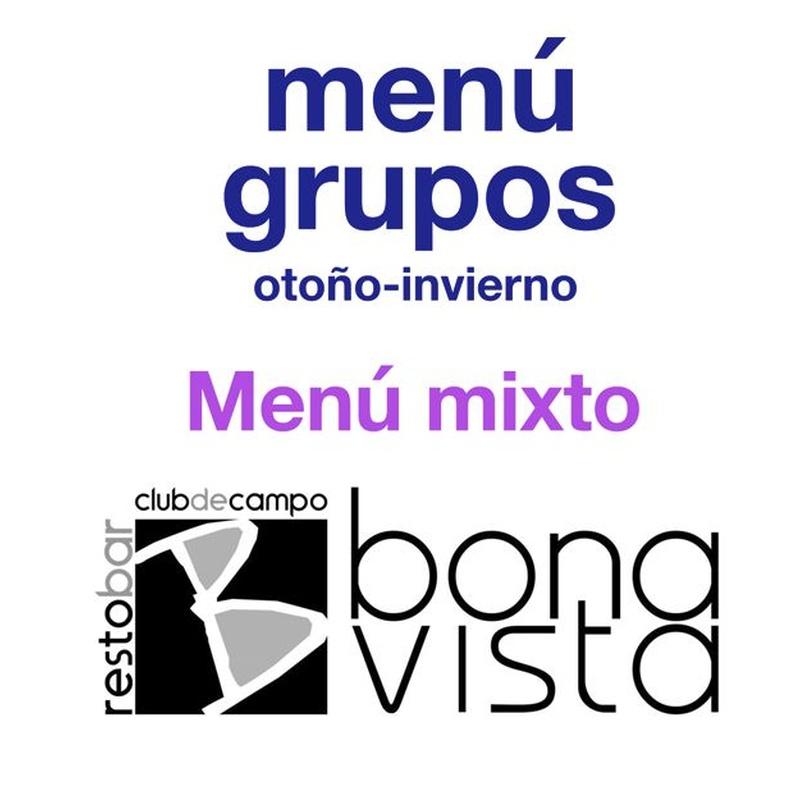 Menú mixto: Carta y Menús de Restaurante Bonavista