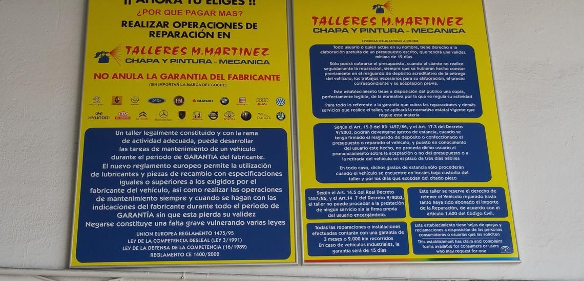 Mecánica rápida y pre ITV en Málaga