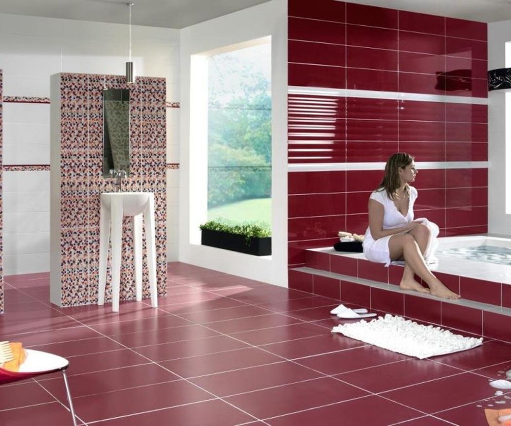 Cómo influye el tamaño de los azulejos en la sensación de amplitud