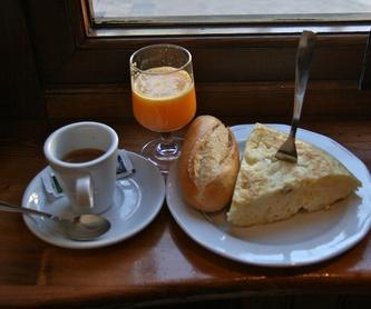 Desayunos: Especialidades de Café Bar Restaurante El Remolino