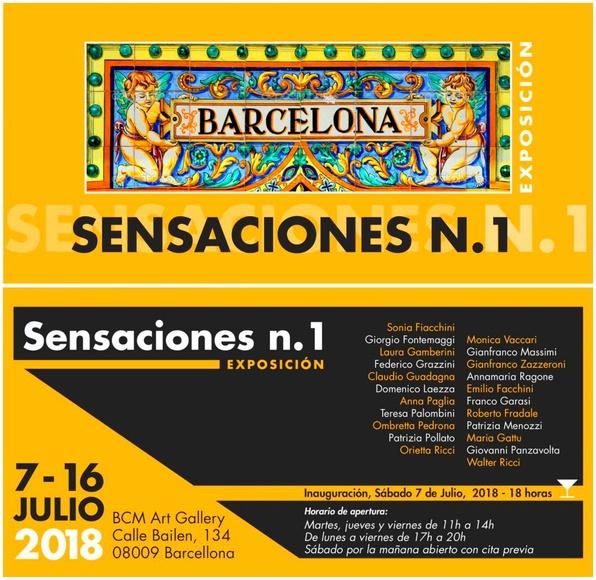 Exposición Internacional Sensaciones I: Exposiciones y artistas  de BCM Art Gallery