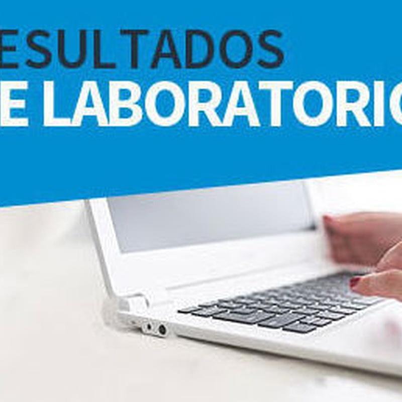 Análisis On line: Análisis Clínicos  de Laboratorio Dra. Teresa Marín