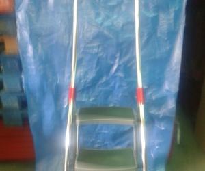 escalera manual de acero y aluminio 3 peldaños