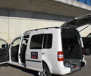 Nuestros vehículos: 7 plazas y adaptados para movilidad reducida