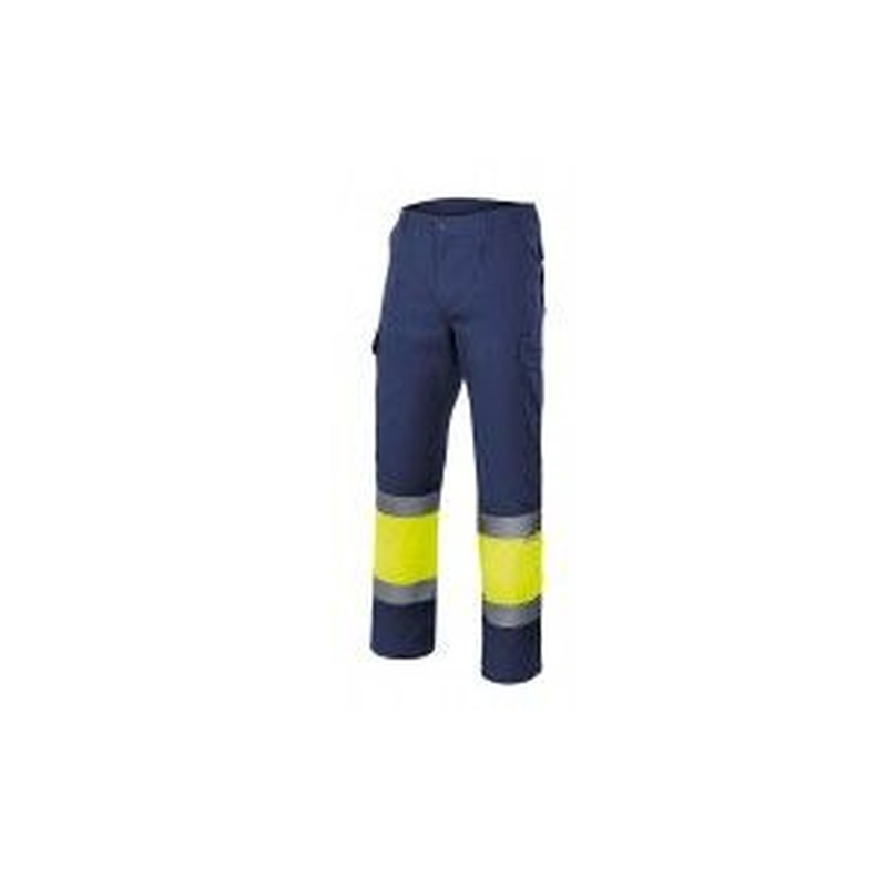 Serie 157 / Pantalón bicolor alta visibilidad: Nuestros productos  de ProlaborMadrid