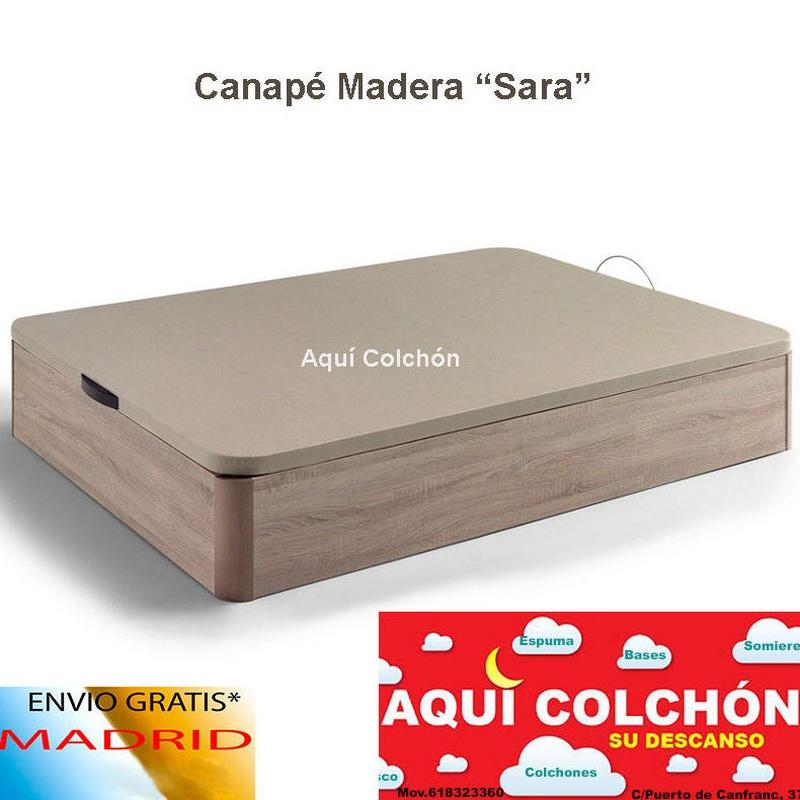 """Canapé de Madera """"Sara"""""""