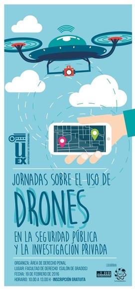 Jornadas sobre el uso de Drones  en Seguridad Pública y Privada.