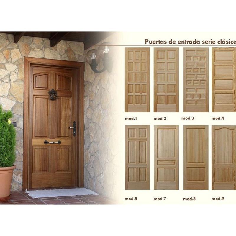 Puertas de entrada serie clásicas