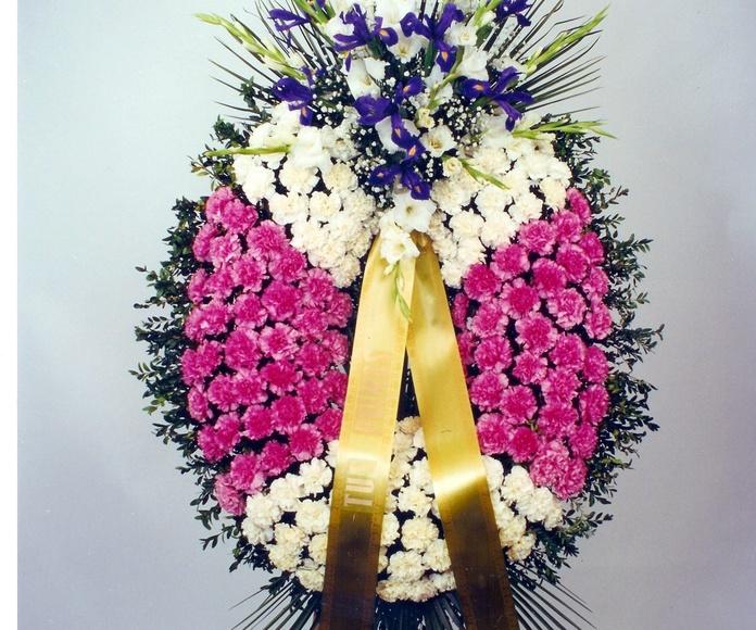 Corona funeral: Catálogo de flores y plantas de Floristería Pétalos