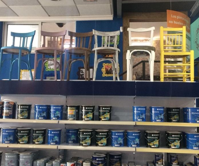Punto de venta en Aspe Betty Paint: La casa del color