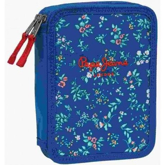 Plumier PEPE JEANS VICKY AZUL FLORES