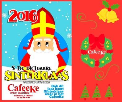 San Nicolás llega a Cafeeke cargado de regalos