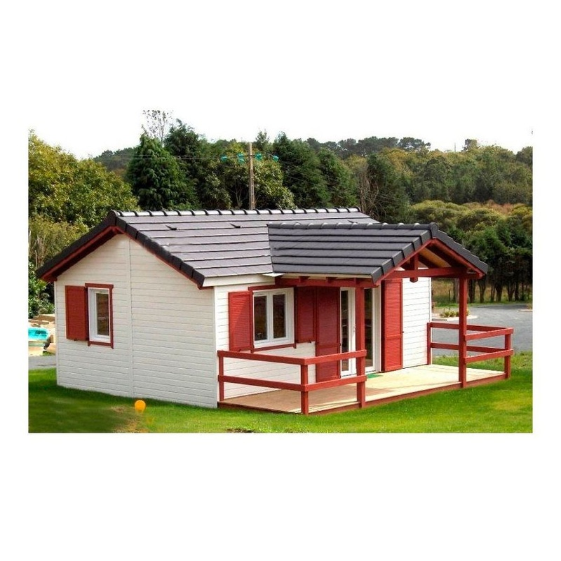 Leonor (52 m2): Casas de madera de 5SCC Casas de Madera