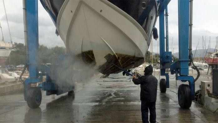 Sistema antifouling en barcos: Servicios de Ignifoc Aislamientos Integrales