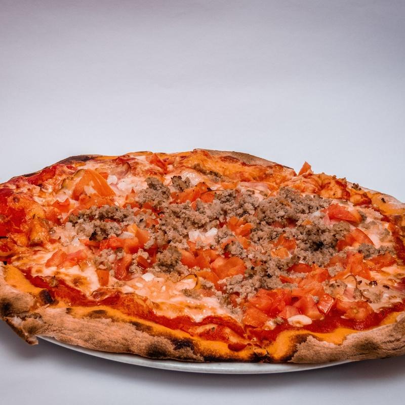 PIZZA MEDIANA AL GUSTO