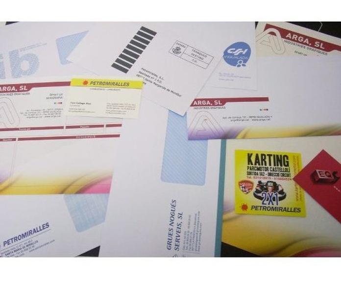 Papelería de consumo: Productos de ARGA, SL -  Indústries Gràfiques