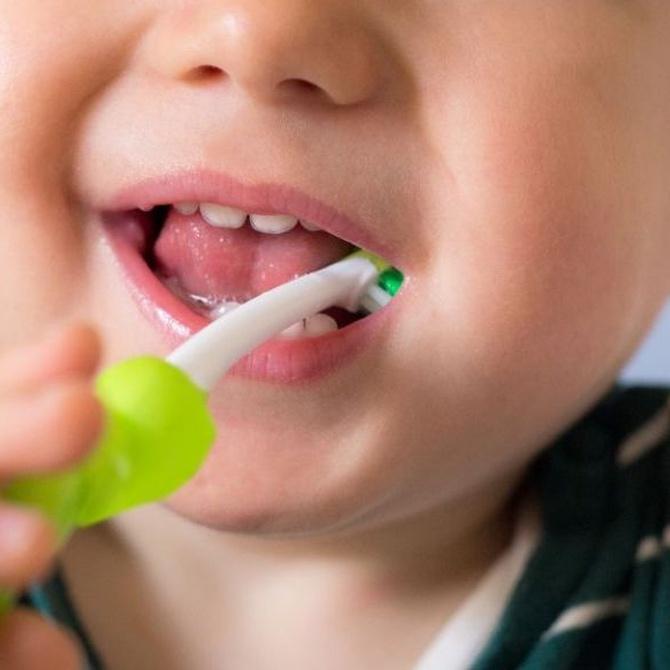 El problema de las caries en los niños