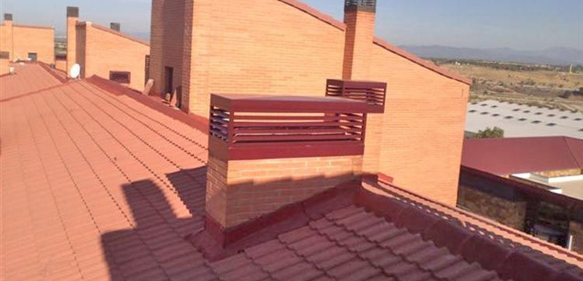 Trabajos verticales en Leganés para la rehabilitación de edificios y tejados