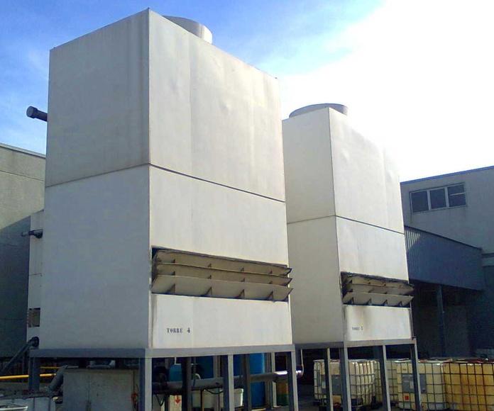 Torres de Refrigeración - Torres NUCLEOS