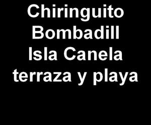 Chiringuito Bombadill. Terraza y palya