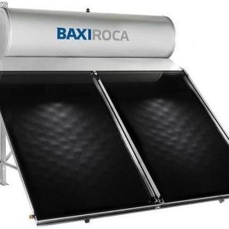 Sistema solar térmico compacto por termosifón Baxi STS 300 2.5